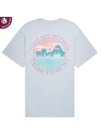 Texas A&M Aggie College Station Circle T-Shirt