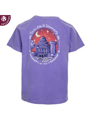 Texas A&M Youth Starry Night T-Shirt