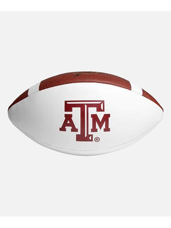Wilson Texas A&M Autograph Football