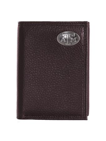 Zepplin Texas A&M Pebble Grain Trifold