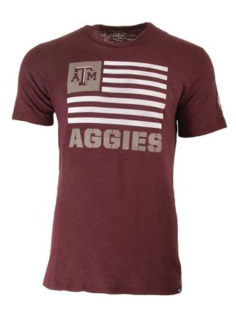 Texas A&M '47 Brand Two Peat Scrum Tee