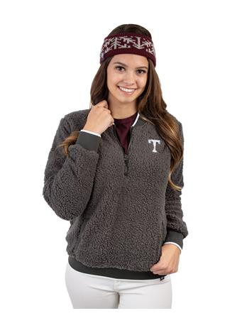 Texas A&M '47 Brand Sherpa Quarter Zip