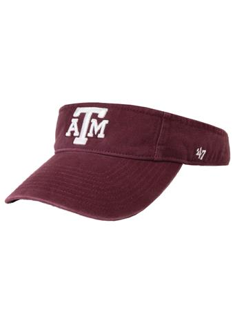 Texas A&M '47 Brand Twins Block Visor