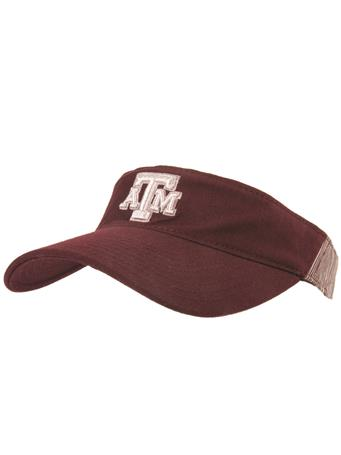 Texas A&M Adidas Aggie Adjustable Visor