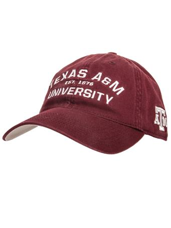 Adidas Texas A&M University Slouch Front Side Hat