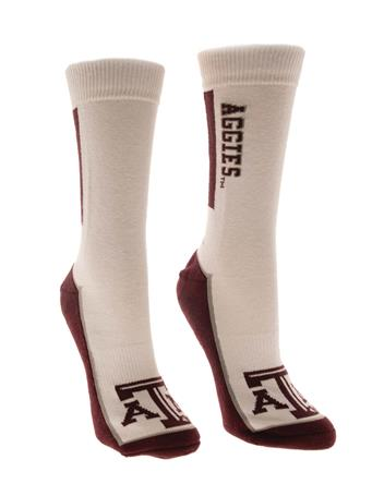 Texas A&M Adidas Aggie Bar Sock