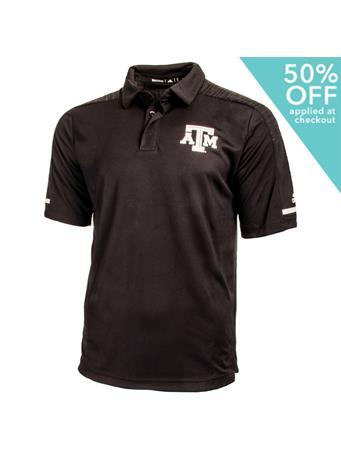 Texas A&M Adidas Aggie Team Coaches Polo