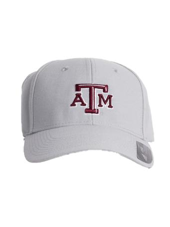 2018 Texas A&M Beveled Structured Adjustable Cap