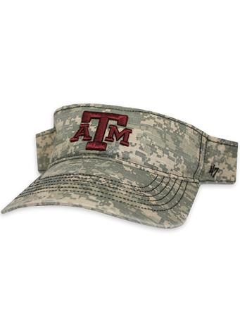Texas A&M '47 Brand Hemley OHT Visor