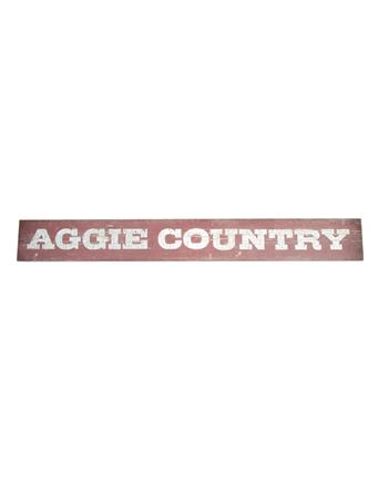Aggie Country Doorway Sign