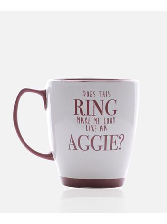 Texas A&M Aggie Does This Ring Mug
