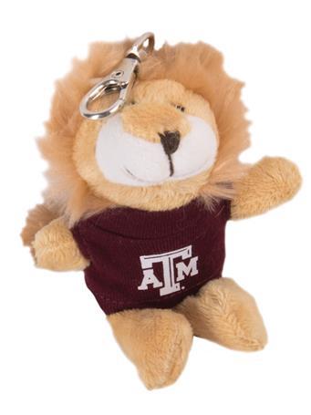 Texas A&M Wild Bunch Lion Keychain
