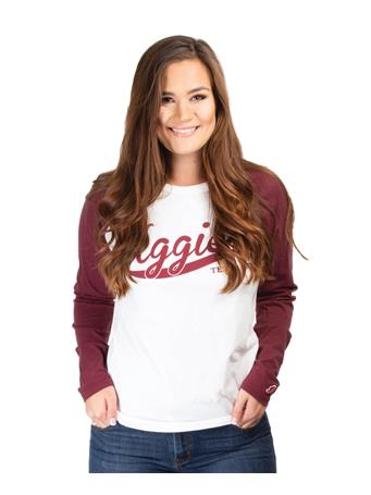 Texas A&M All American Baseball Long Sleeve T-Shirt