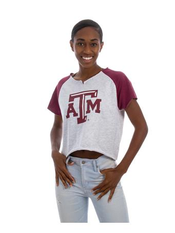 Texas A&M Aggies ZooZatz Crop Top