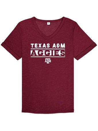 Texas A&M Aggies ZooZatz Juke Knotted Tee