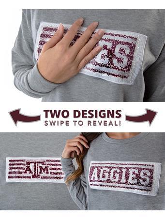 Texas A&M Aggies ZooZatz Inverse Sweatshirt