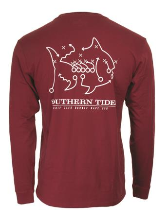 Texas A&M Southern Tide Skipjack Play Long Sleeve