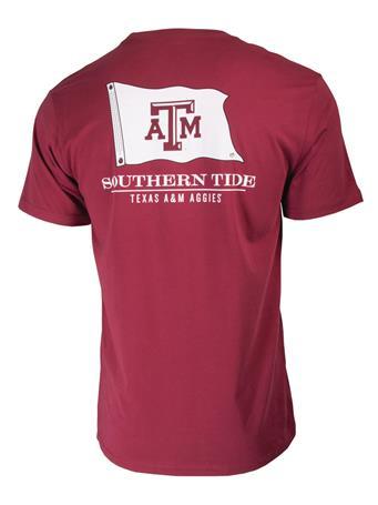 Southern Tide Texas A&M Nautical Flag T-Shirt
