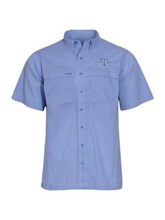 Texas A&M GameGuard MicroCheck Men's Button Down Shirt