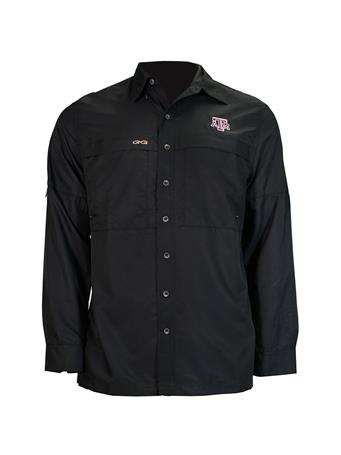Texas A&M GameGuard Men's MicroFiber Long Sleeve Shirt