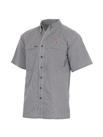 Texas A&M GameGuard MicroCheck Men's Button Down Shirt