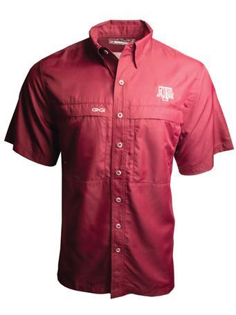 Texas A&M GameGuard Microfiber Short Sleeve Shirt