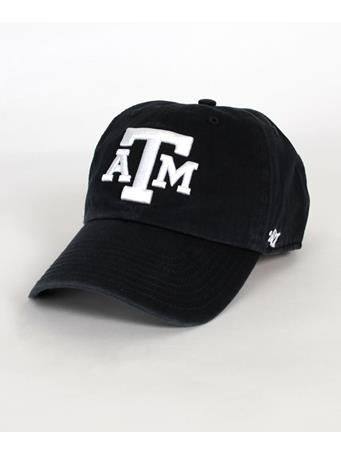 '47 Brand Texas A&M Block Clean Up Cap