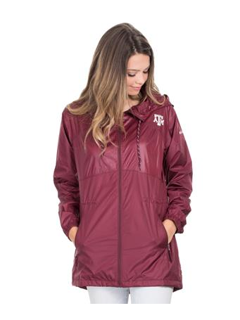 Texas A&M Columbia Flashback Windbreaker