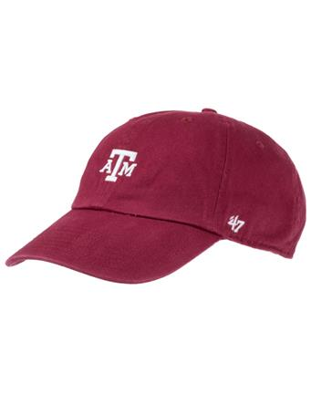 '47 Brand Texas A&M Block Base Runner Cap