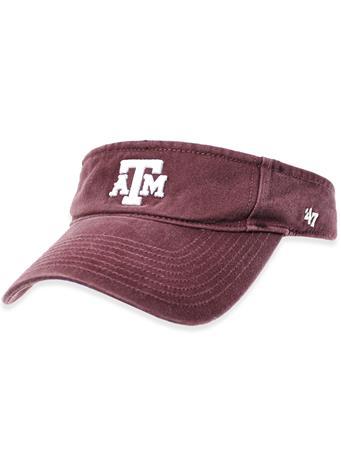 Texas A&M '47 Brand Block Clean Up Visor