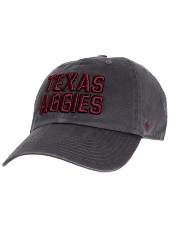 Texas A&M AGGIES '47 Brand Clean Up Cap