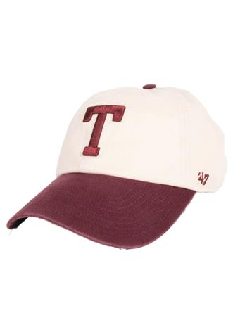 Texas A&M Two Tone Block T Clean Up