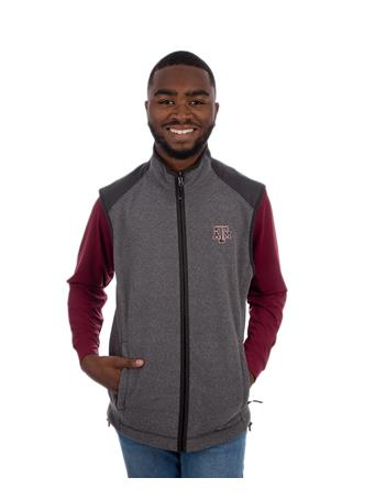 Texas A&M Cutter & Buck Cedar Park Full Zip Vest