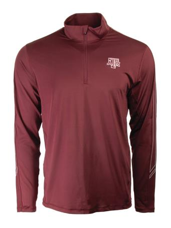 Cutter & Buck Texas A&M Pennant Sport Half Zip