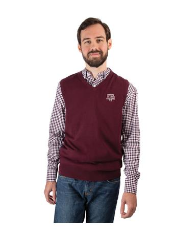 Texas A&M Cutter & Buck Lakemont Vest