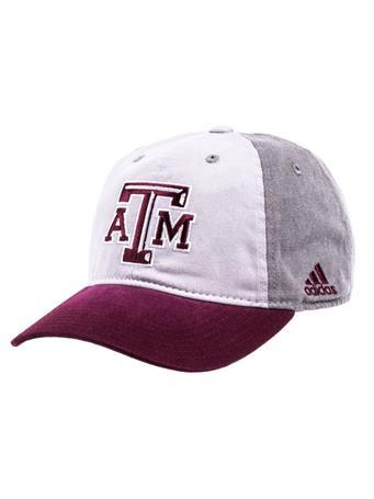 Texas A&M Adidas Sun Bleached Cap