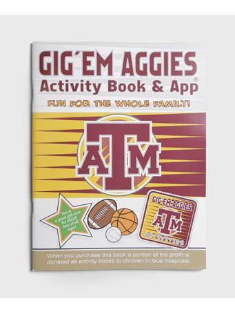 Texas A&M Aggie Activity Book