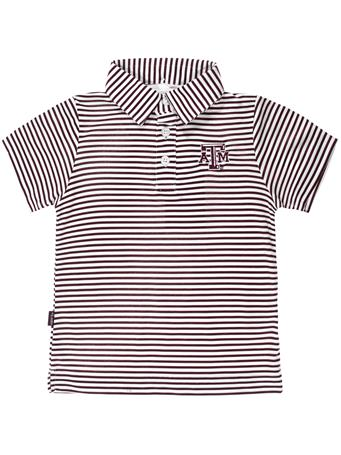 Texas A&M Garb Toddler Carson Polo