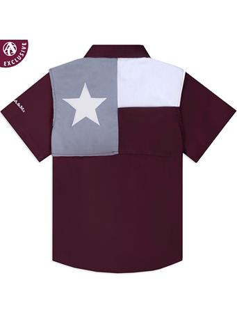 Texas A&M Aggie Infant Flag Fishing Shirt