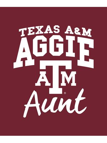 Texas A&M Aggie Aunt Decal