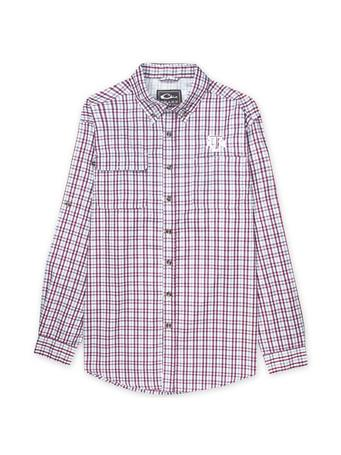 Texas A&M Drake Long Sleeve Plaid Wingshooter Button Down Shirt