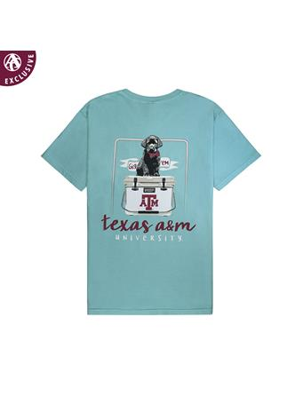Texas A&M Youth Black Lab Puppy Cooler T-Shirt