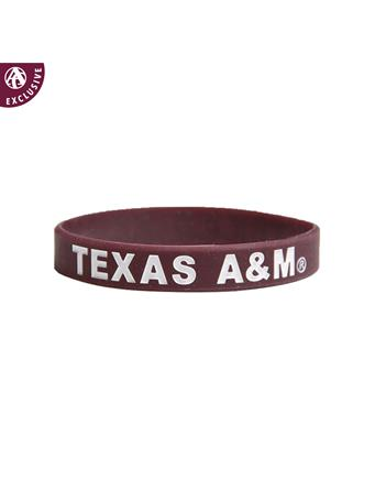 Texas A&M Spirit Band Silicon Bracelet