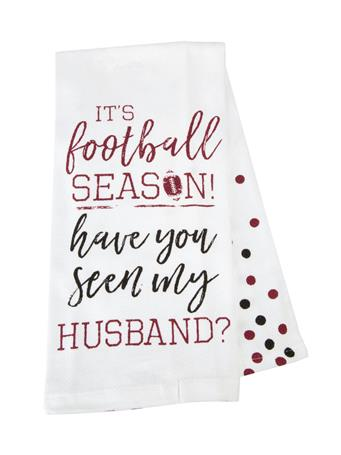 It's Football Season Tea Towel