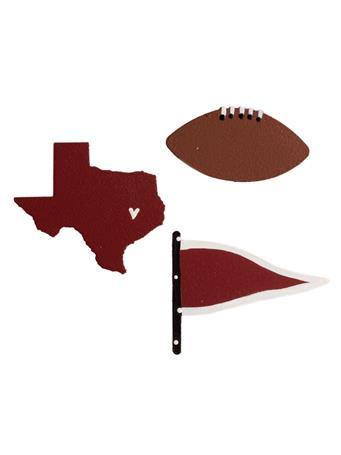 Texas Pennant Magnets