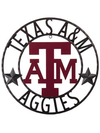 Texas A&M Aggies Stars 18 Inch Iron Wall Decor