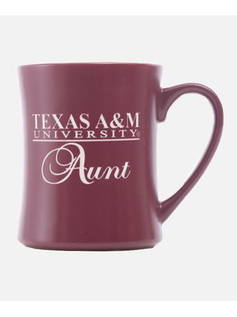 Texas A&M Aggie Family Matte Diner Mug