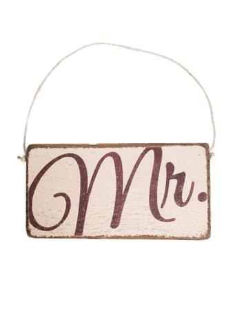 Rustic Mini Plank Sign