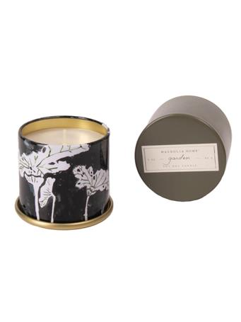 Garden Demi Tin Candle