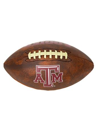 Texas A&M Full Size Vintage Football